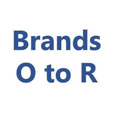 Brands O to R